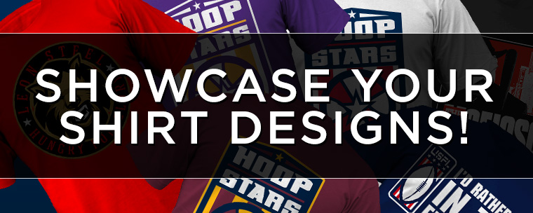 Showcase Your T-Shirt Designs For Optimal Exposure!
