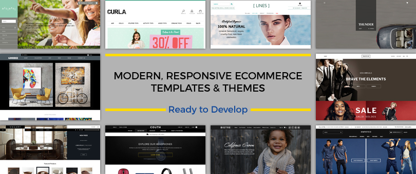 The Ultimate Ecommerce Templates & Theme Collection