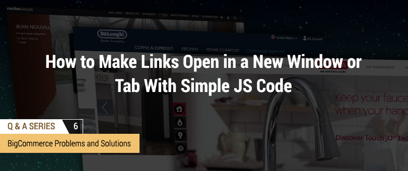 How to Make Links Open in a New Window or Tab With Simple JS Code