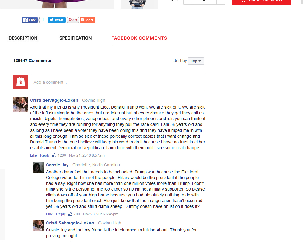 Bigcommerce Facebook Comments Add-On